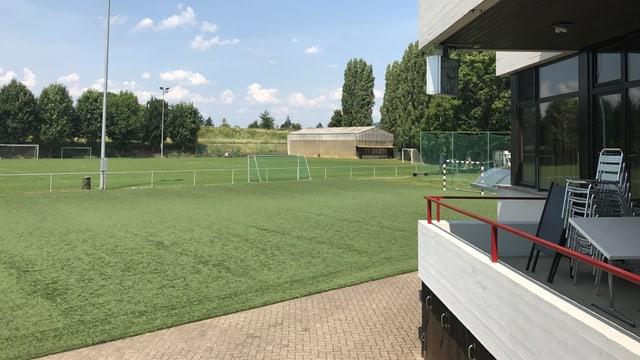 Sportplatz Landauer