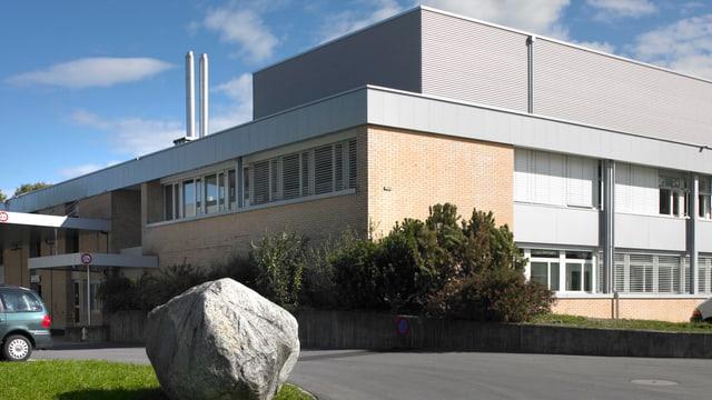 Das Firmengebäude der B.Braun Medical in Sempach.