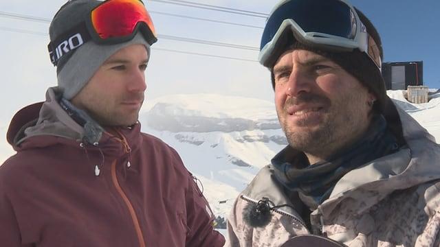 Mattias Menzli e Sergio Berger.