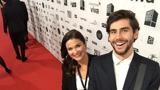 Judith Wernli und Alvaro Soler.