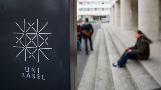 Uni Basel Schild
