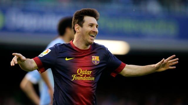Lionel Messi stellte in Vigo eine neue Bestmarke auf.