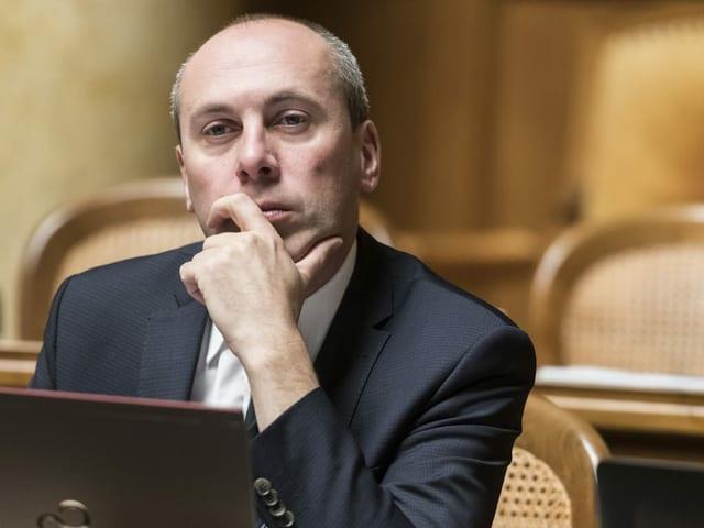 Manfred Bühler im Nationalrat