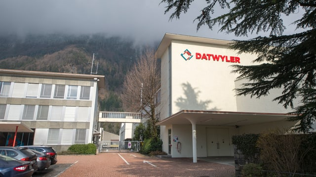 Hauptsitz der Firma Dätwyler in Altdorf