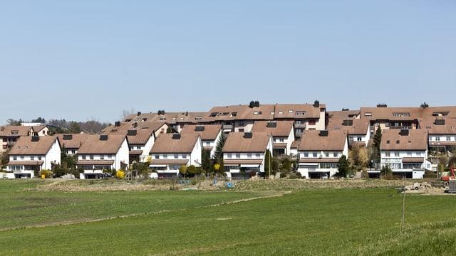 Mutschellen - Siedlung mit Einfamilienhäuser