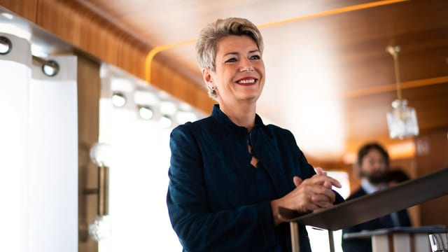 La cussegliera federala Karin Keller-Sutter