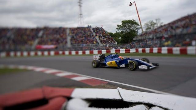 Il team da Sauber po vinavant restar en la furmla 1.