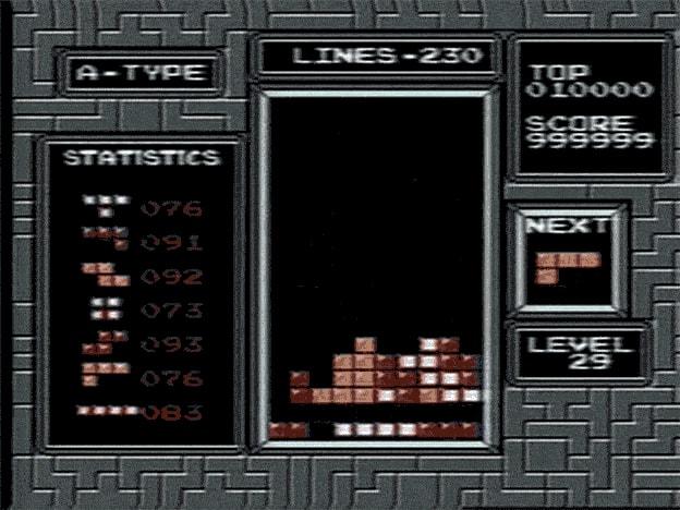 Ein animiertes GIF zeigt eine Spielszene aus Tetris.