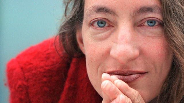 Ruth Schweikert, Schweizer Schriftstellerin und Verehrerin von Louise Bourgeois.
