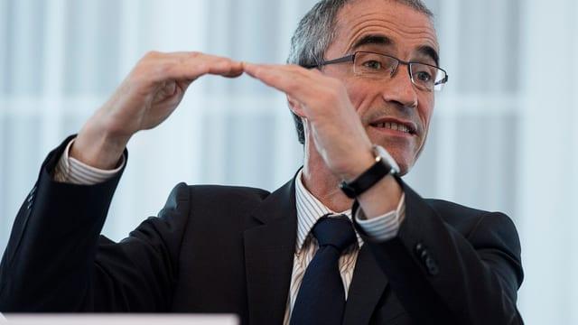 Serge Gaillard, directur da l'Administraziun federala da finanzas.