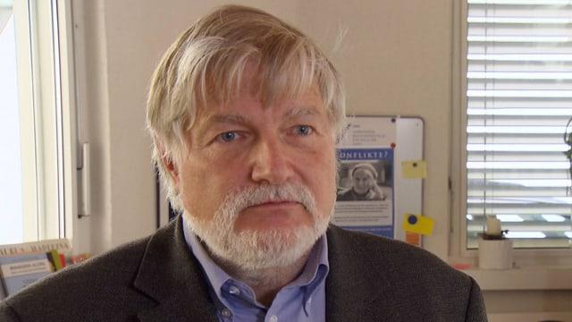 Albert Wettstein von der UBA Zürich.