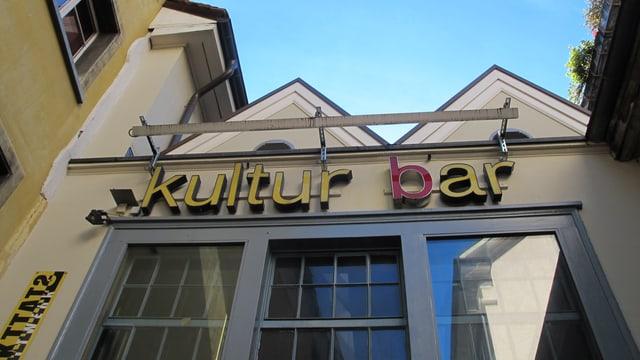 Aussenfassade der Bar