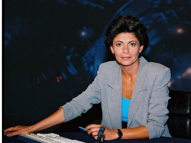 Die ehemalige Tagesschau-Moderatorin Dominique Rub