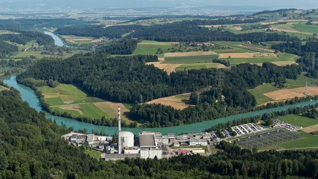 Das AKW Mühlenberg