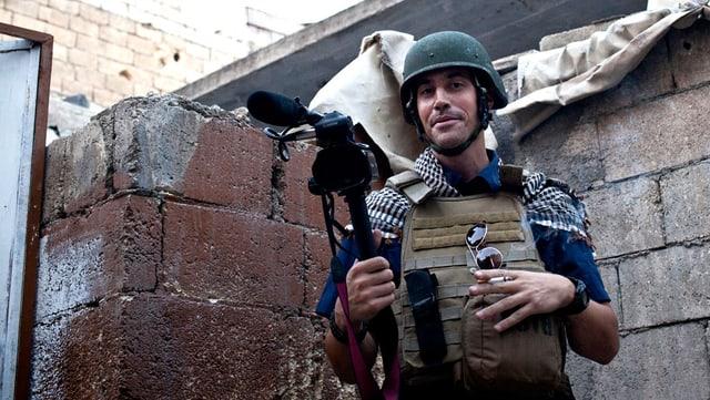 Der Journalist James Foley.