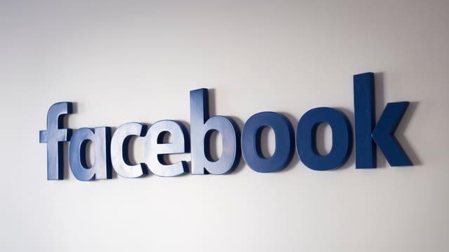 Logo da Facebook.