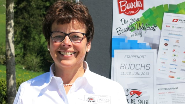 Portrait der Buochser Gemeindepräsidentin Helene Spiess