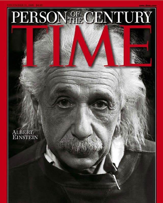 Cover der Time mit Albert Einstein