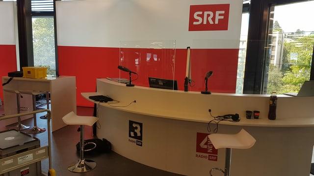 Das SRF-Studio in Montreux