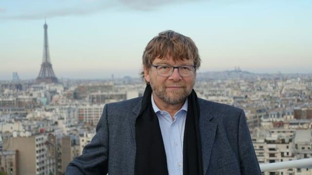 Daniel Voll vor Paris.