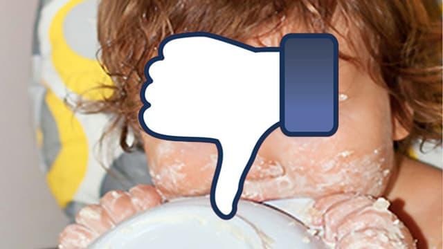Viele Eltern stellen Fotos ihrer Kinder ins Internet. Ihr sagt ganz klar: dislike!