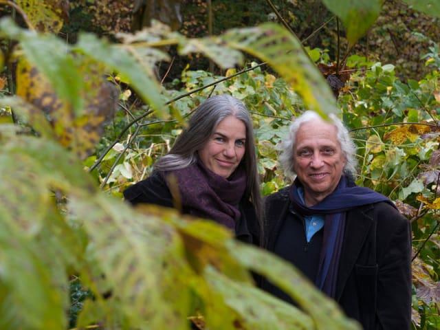Porträt im Wald von Livio Andreina und Anne Maria Glaudemans Andreina