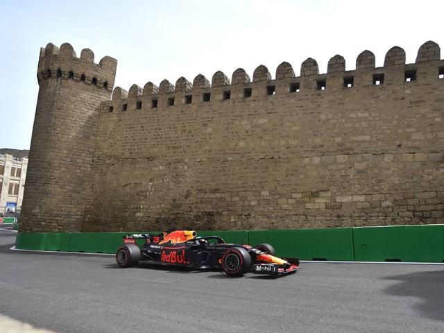 Daniel Ricciardo im Red Bull.