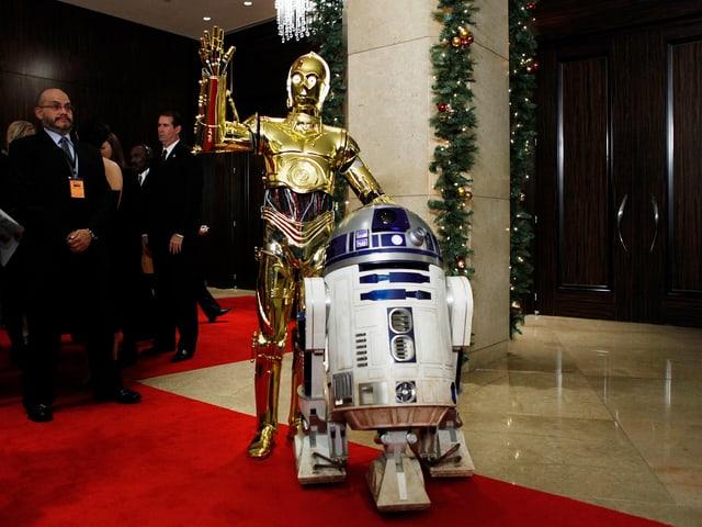 Star Wars Roboter und Star Wars Figut