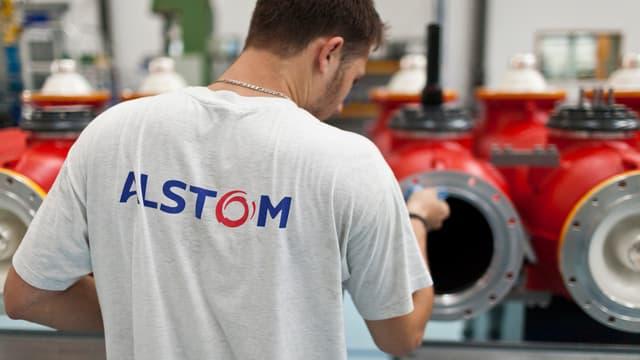 Alstom-Mitarbeiter in Oberentfelden