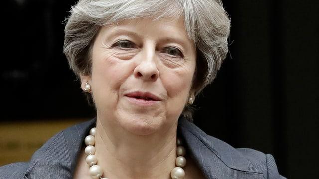 La primministra Theresa May.