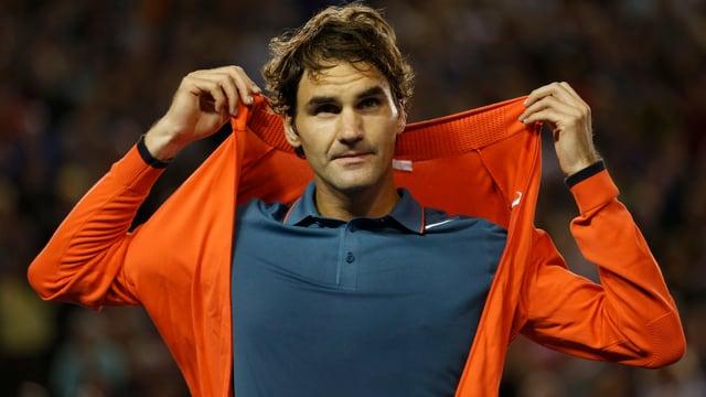 Roger Federer tritt erneut in der Abenddämmerung an.