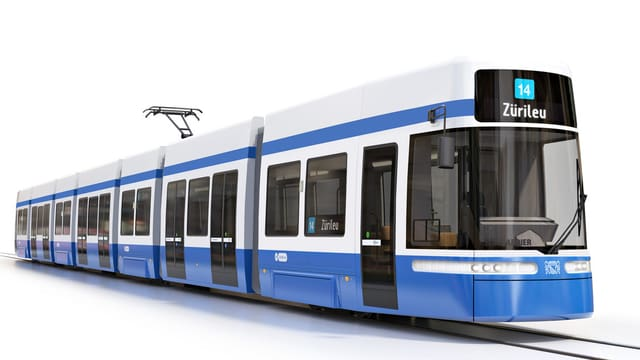 "Comupterbild des Bombardier-Trams ""Flexity"""