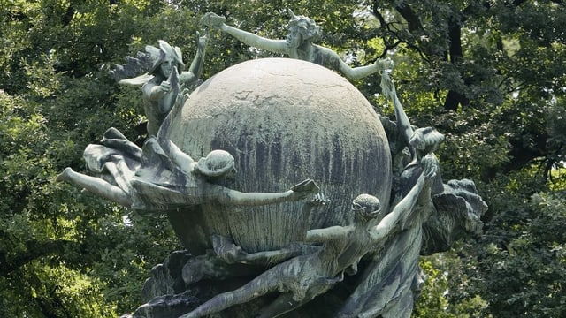 Weltpost-Denkmal.