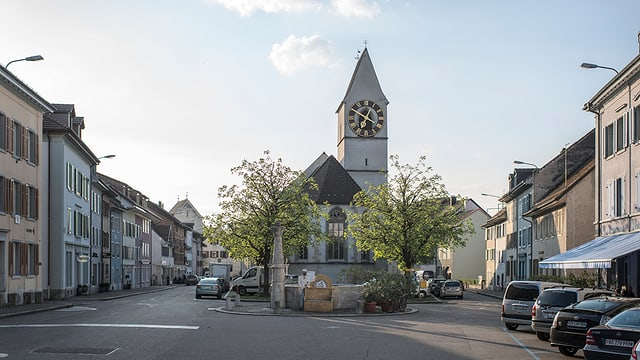 Blick in die Altstadt von Klingnau