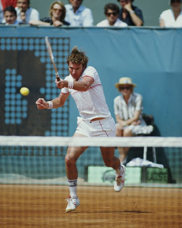 Jimmy Connors in Paris 1985.