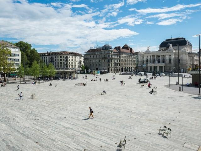 Sechseläutenplatz in Zürich