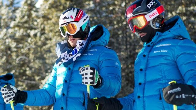 Alex Fiva und Armin Niederer arbeiteten sich im Schatten von Mike Schmid an die Weltspitze vor.