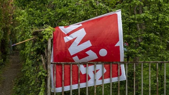 Unia-Flagge.