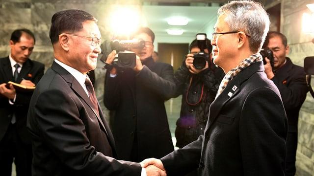 Nord- und Südkorea.