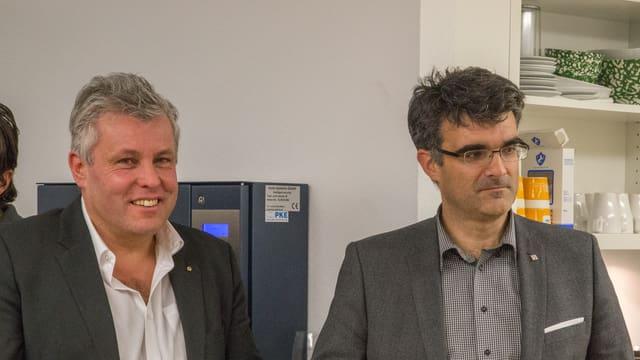 Herbert Stieger e Marcus Caduff