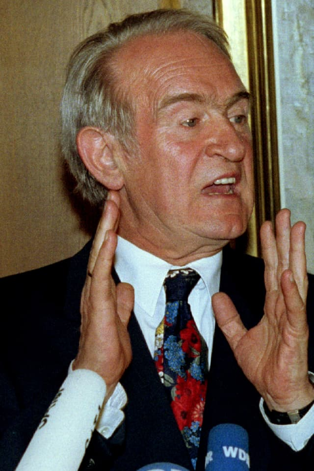 Potrait Johannes Rau