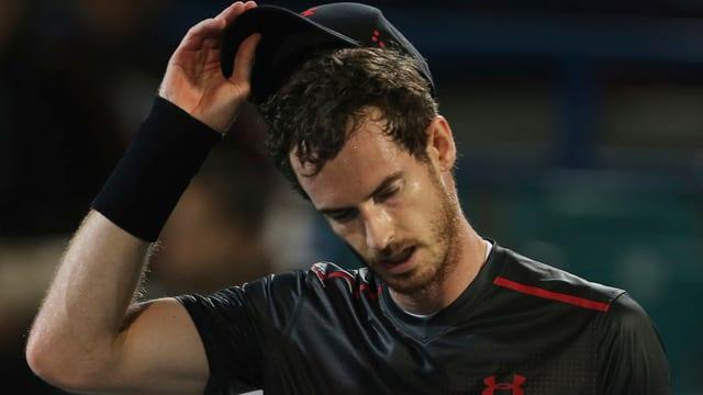 Enttäuschter Brite Andy Murray
