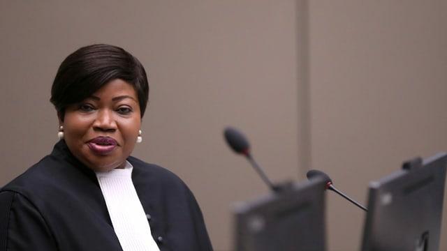 ICC-Chefanklägerin Fatou Bensouda.