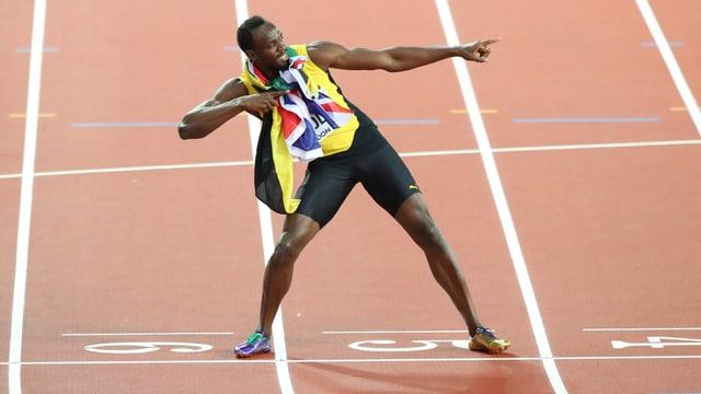 Bolt jubelt