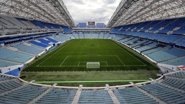 Fusbalstadion Fisht in Sotschi. Sochi ist ein Austragungsort der Fussball Weltmeisterschaft 2018