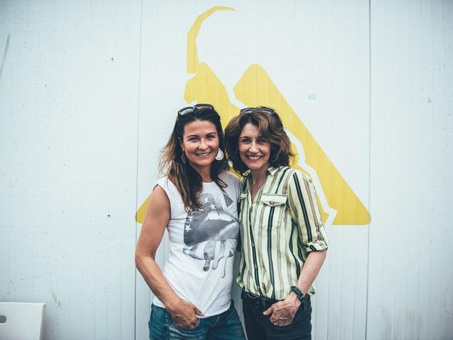 SRF-3-Moderatorin Judith Wernli mit Sina
