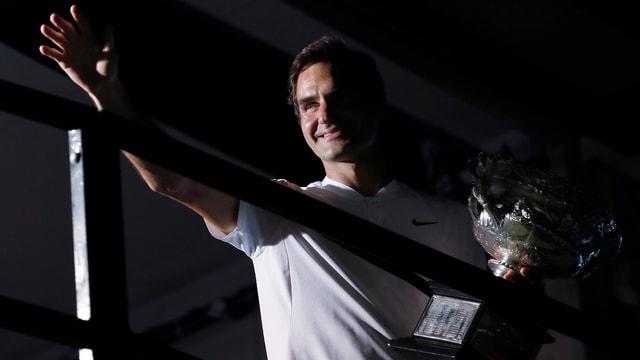 Roger Federer erwartet in Rotterdam harte Gegenwehr.