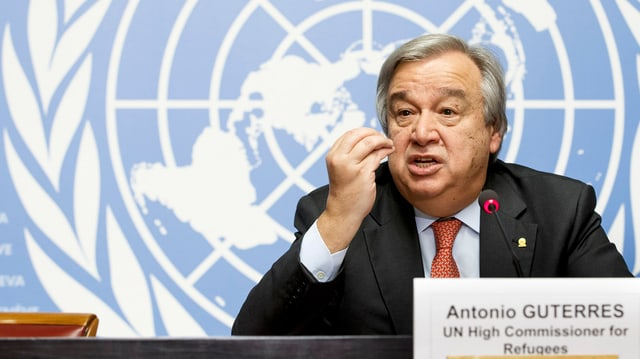 Il Portugais Antonio Manuel de Oliveira Guterres ch'è nominà per il post da secretari general da l'ONU.