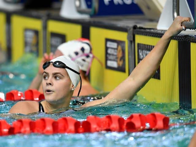 Die australische Schwimmerin Shayna Jack.