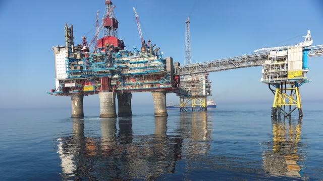 In der Region der Förderplattform Sleipner wird seit Jahren CO2 in die Tiefe transportiert.